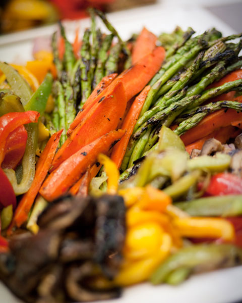 Grilled Vegetable Crudite