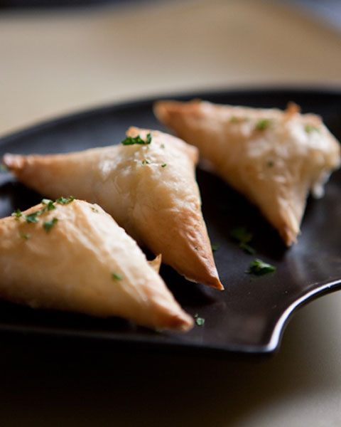 Phyllo Triangles